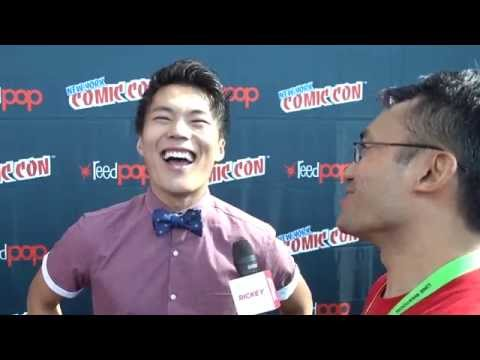 "John Kim at NYCC 2015 from ""The Librarians"" on TNT"