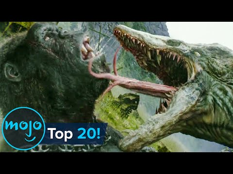 Top 20 Greatest Giant Movie Monster Fights of All Time