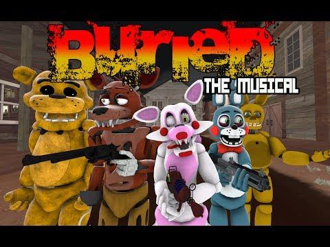 (FNAF/SFM) BURIED THE MUSICAL- Lhugueny Parody ESPAÑOL