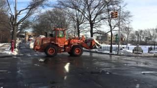 DSNY Snow Melting Efforts on Bay Street