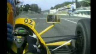 Martin Donnelly onboard Monza 1990