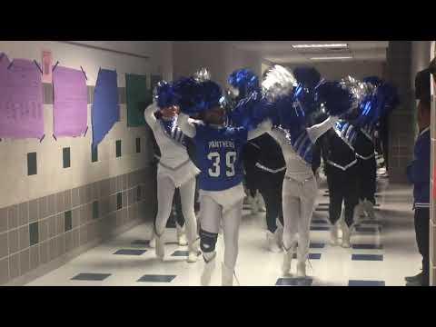 North Crowley High School Parade in the hallway