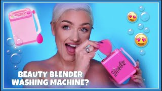 Mini Beauty Blender Washing Machine Review
