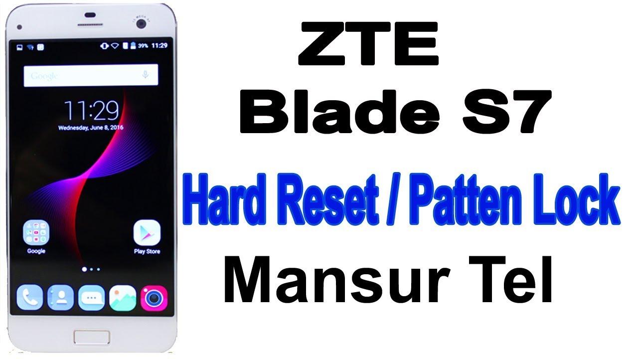 Zte Blade S7 Hard Reset Videos - Waoweo