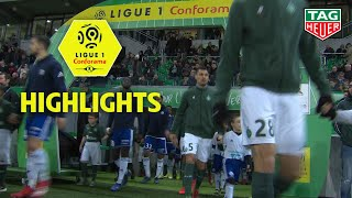 AS Saint-Etienne - RC Strasbourg Alsace ( 2-1 ) - Highlights - (ASSE - RCSA) / 2018-19