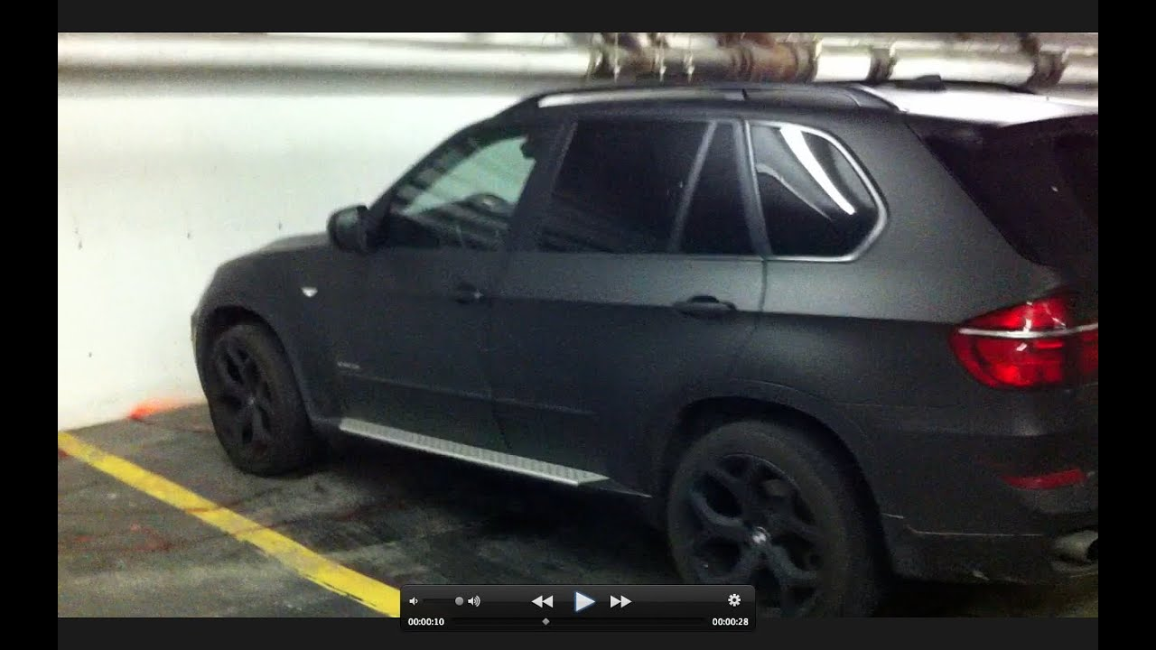 Matte Black Bmw X5 E70 In Montreal Youtube