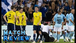 WTF WAS THAT?! ISREAL 2-1 SCOTLAND - MATCH REVIEW
