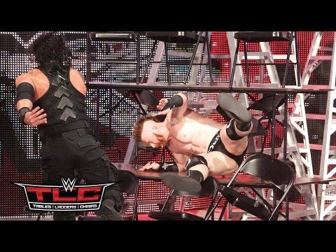 Roman Reigns Vs. Sheamus – TLC Match: WWE TLC 2015