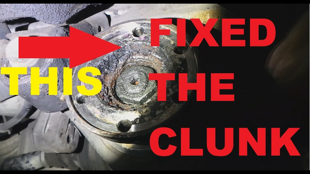 BMW DRIVE SHAFT CLUNK FIX E39 E46 E90 / EXHAUST REMOVED SOUND TEST