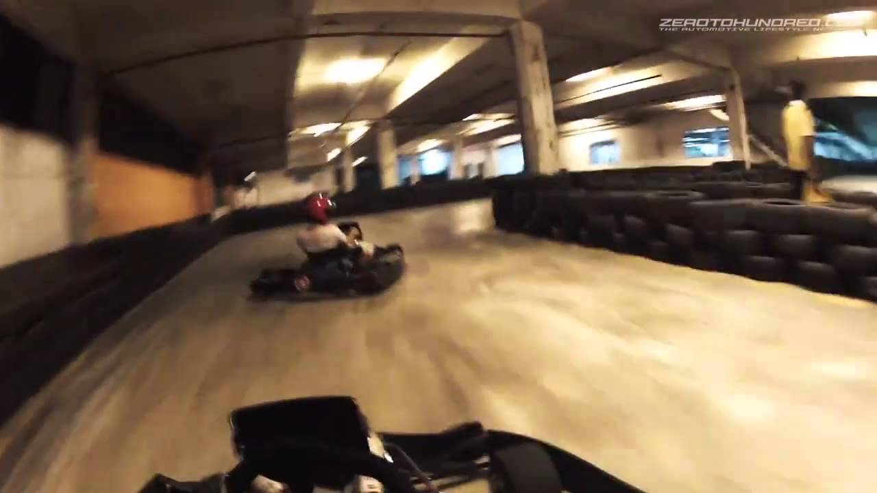 Superkart Indoor Karting - Mark Darwin's 34 027 Lap Record by  zerotohundred com