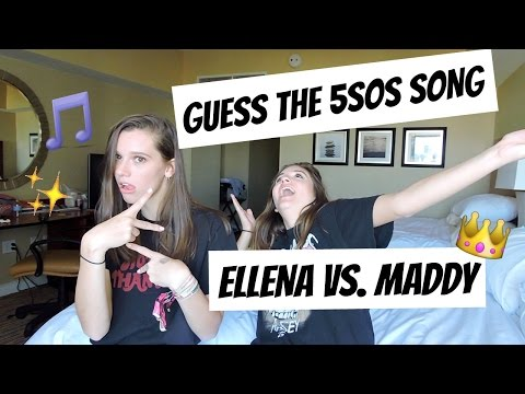 GUESS THE 5SOS SONG FT. MADDY RADTKE