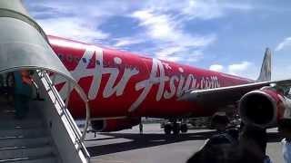 Landing in kathmandu Tribhuwan International Airport Nepal,KTM(Air Asia)