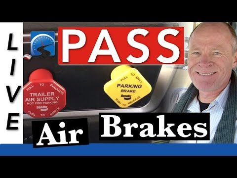 How to Pass Your CDL Air Brakes Course for Road Test | AIR BRAKE Smart