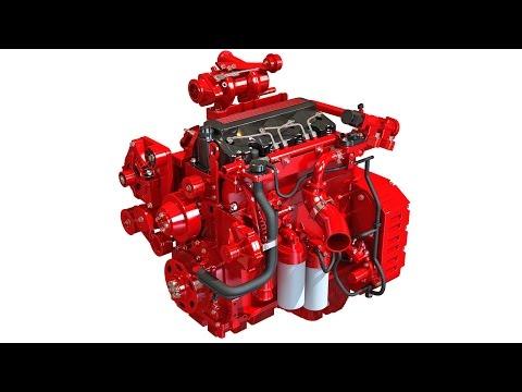 Heavy Duty Diesel Engine 3D Model