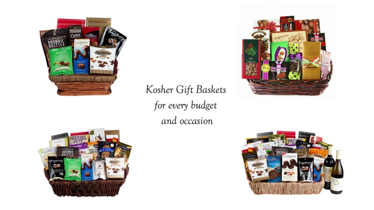 kosher gift baskets swerseys chocolate
