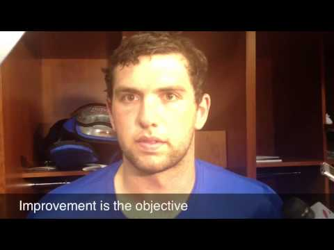 Andrew Luck talks Colts