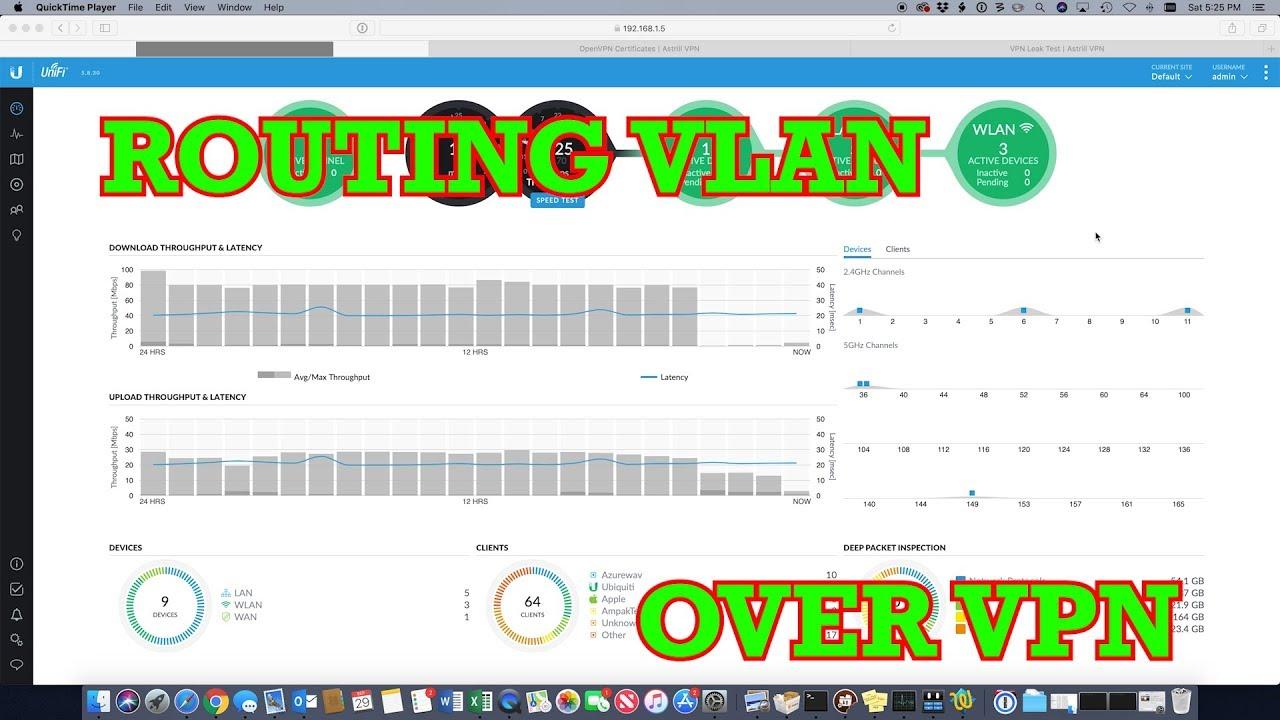 Unifi USG Route VLAN over OpenVPN Client