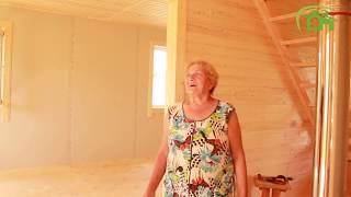 Построен каркасный дом 7х9     СК Дачник