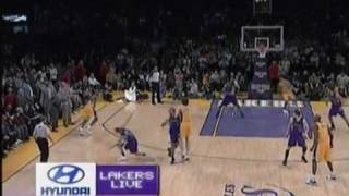 Kobe Bryant hits game winner! [VIDEO 1] 1/1/10 - Lakers vs Kings January 1st NEW YEARS DAY