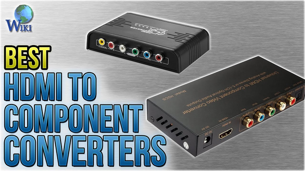 6 Best HDMI To Component Converters 2018 - YouTube