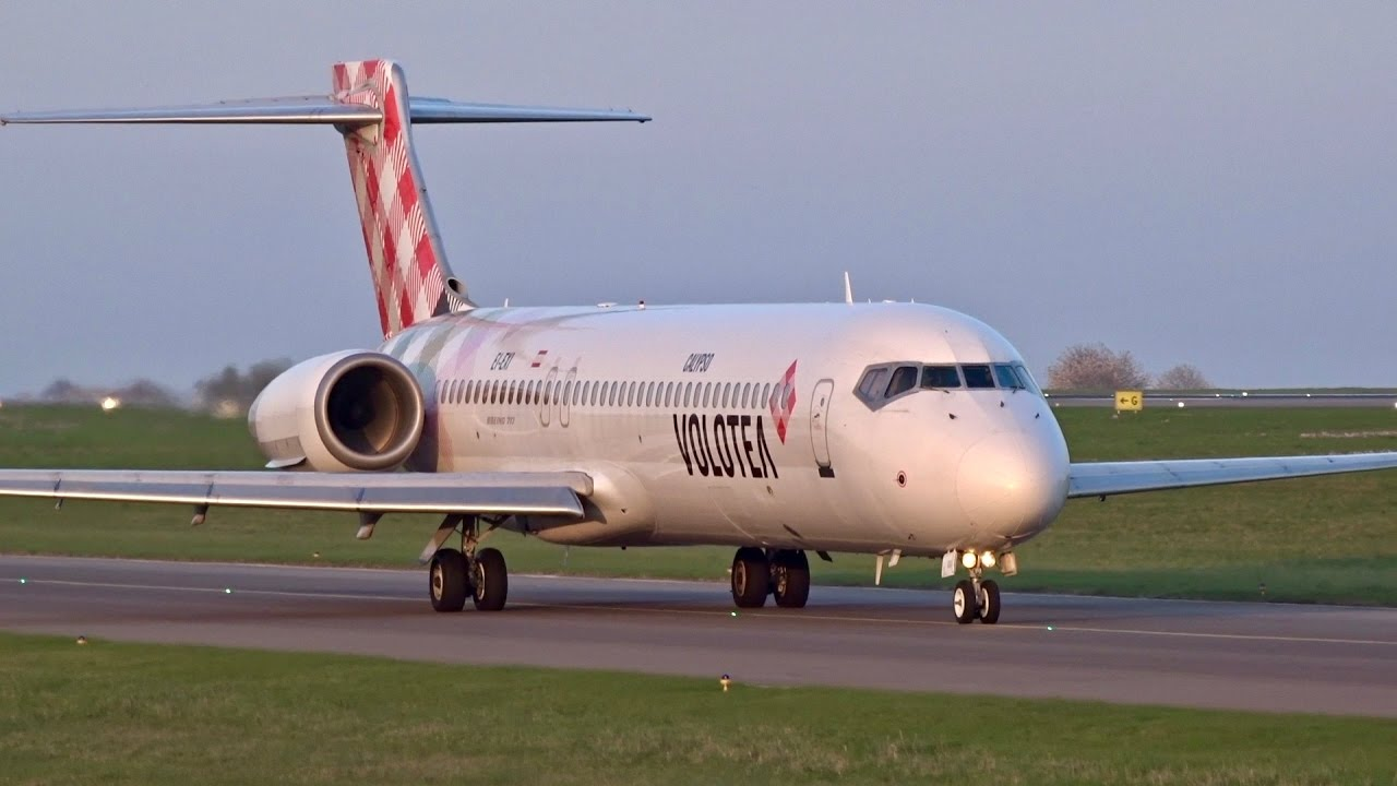 INAUGURAL FLIGHT | VOLOTEA Boeing 717-200 | Departure from Luxembourg  Airport