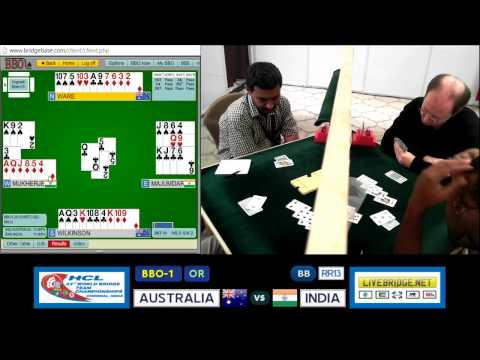 2015 WBTC BB-RR13 BBO-1[OR] AUSTRALIA vs INDIA