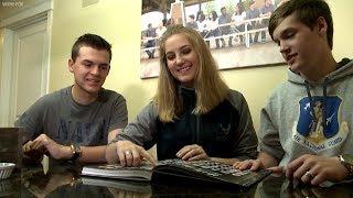 Quadruplets graduating high school each join military