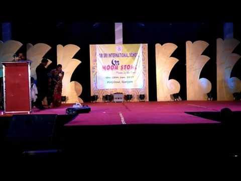 Annual function om sri international school.