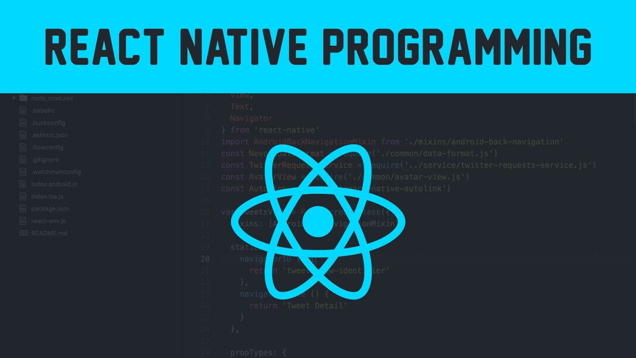 Learn Mobile Programming With React Native | Indiegogo