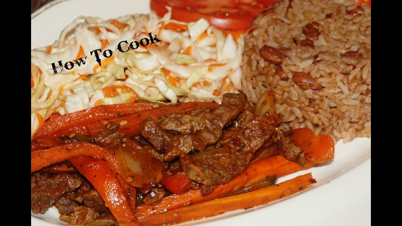 How To Cook Jamaican Pepper Steak Recipe Jamaican Accent Vlog 2016