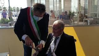 Il centenario del borgo antico: la festa a Mario Salerno