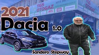 Dacia Sandero Stepway 1.0 Turbo ECO-G 100 bg 2021 Model - Prins New Technomax Lpg Montajı