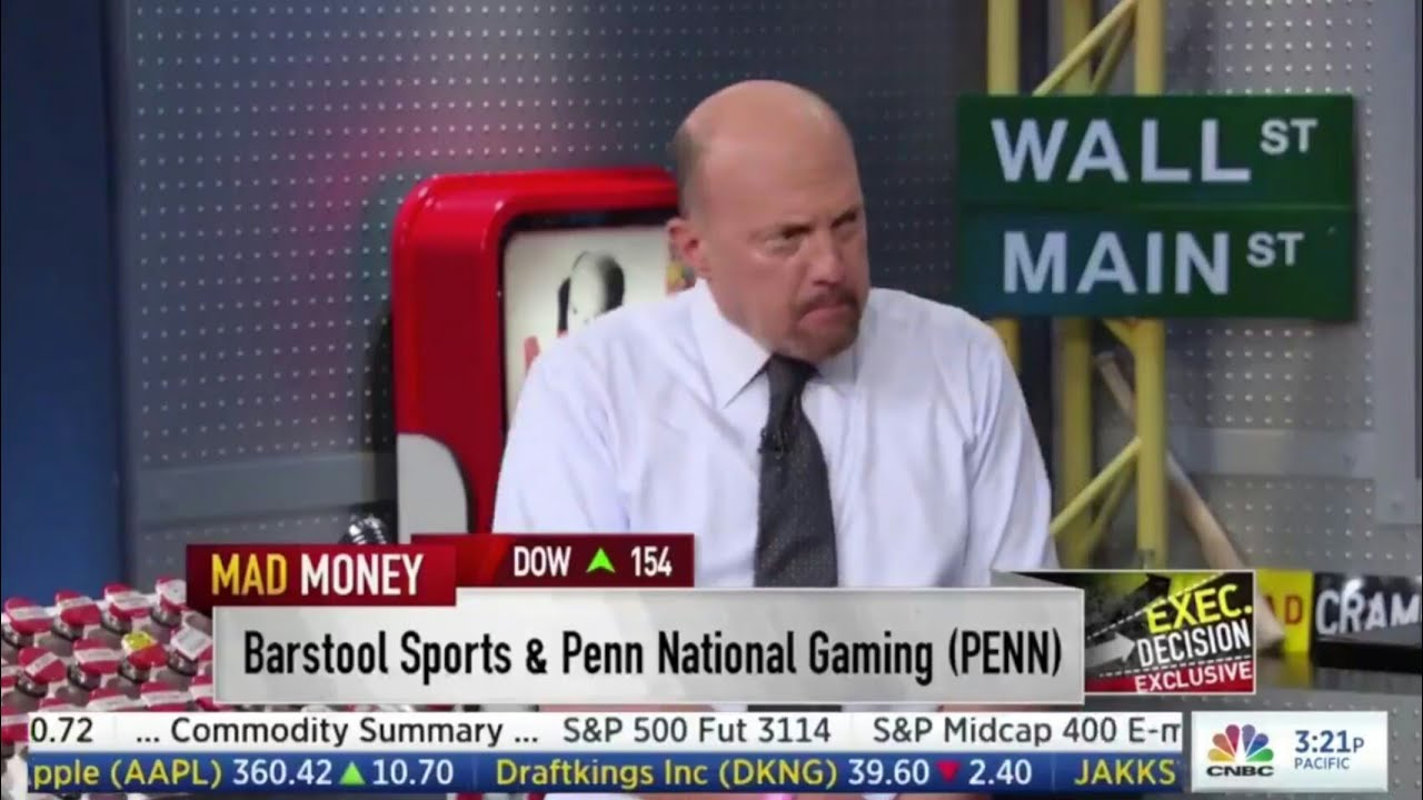 CRAMER JUMPIN ON THE $PENN TRAIN!