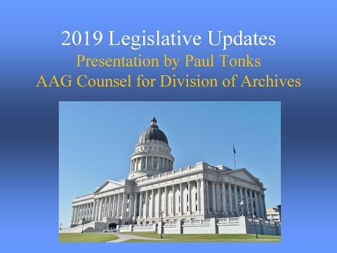 RIMM 2019 - Legislative Updates