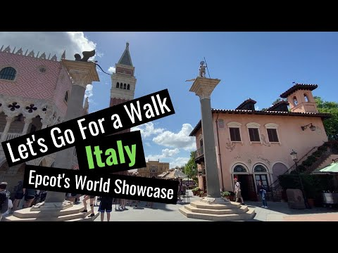 Let's Go For a Walk | Walt Disney World (EPCOT's Italy Pavilion)