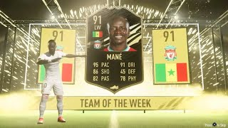 Fifa 21 PACK OPENING 5X 100K PACKS - IF MANE IN A PACK!!!!!