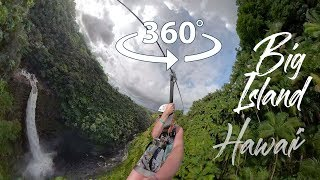 Ziplining on the Big Island of Hawaii