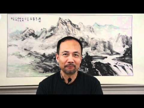 """Chinese Painting Class Lesson 1 Trailer: Landscape(Shanshui or """"Mountains and Water"""") with Henry Li"""