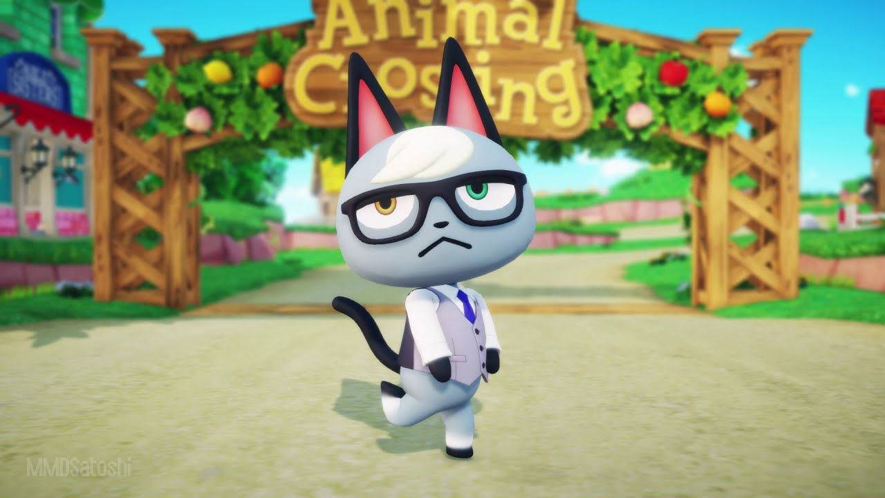 【MMD Animal Crossing】Tokimeki no Onpu ni Natte【Raymond】