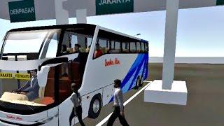 IDBS Bus Simulator V3.1 - Bis Sugeng Rahayu SHD Jakarta Yogyakarta Full Telolet Habis Bensin