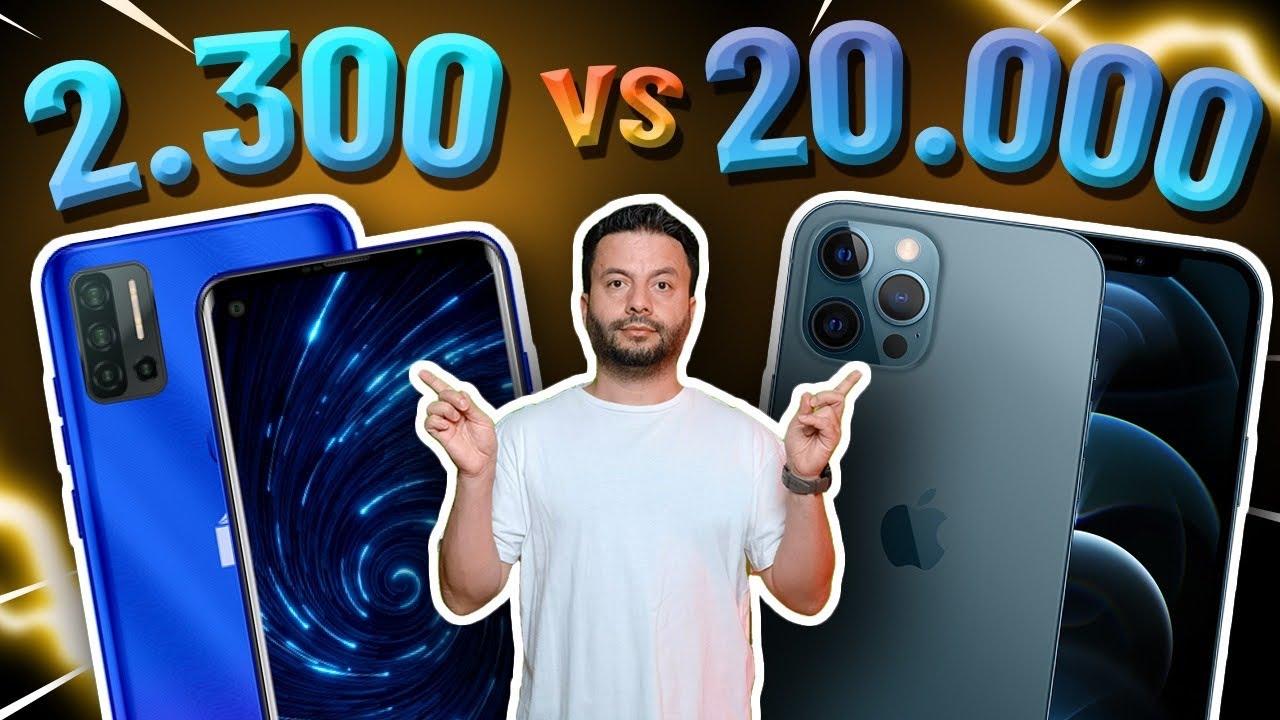 20.000 TL'lik telefon yerine 2.300 TL'lik telefon kullanırsak ne olur? (Reeder P13 Blue Max Pro)