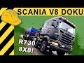SCANIA R730 8x8 mit 120 Tonnen! Schwertransport Test | Scania Test Strecke Schweden & Factory Tour