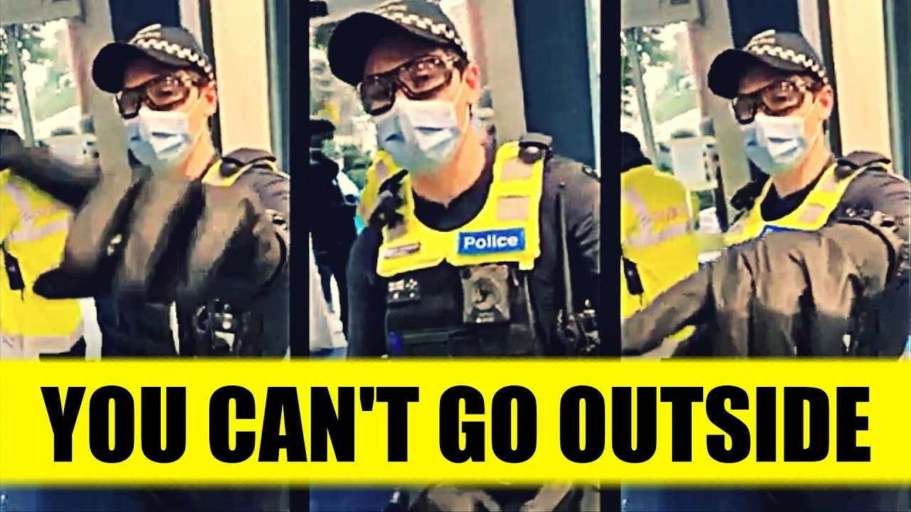 LET ME OUT!!!: Trapped By Police Who Know Nothing | STAY INSIDE, WEAR MASK & JUST OBEY (Clean Cut)