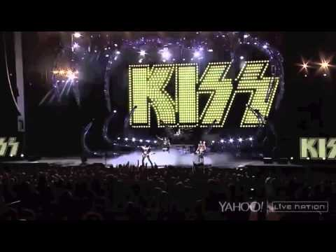 KISS Live In Charlotte 7/19/2014 The 40th Anniversary World Tour