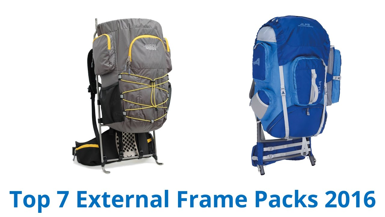 7 best external frame packs fall 2016