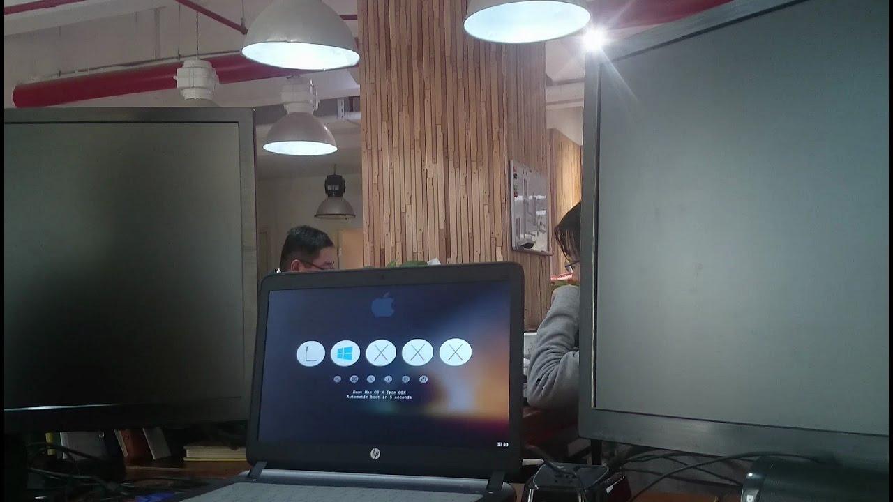 HP Probook 440G2 Septuple EFI BOOT Centos 7, Windows 7, 8 1, 10, OSX, OSX  recovery, OSX Installer