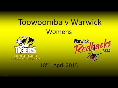 Tigers Women v Warwick Reddettes 18.4.15