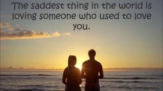 Sad Love Quotes and Relationship Quotes - Try Not To Cry