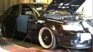 Audi A4 1.8t ATP GTRS REVO Stage 3 kit. Dyno pull.