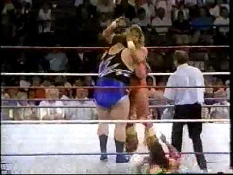 Ultimate Warrior vs Earthquake 1991 Coliseum Video Exclusive